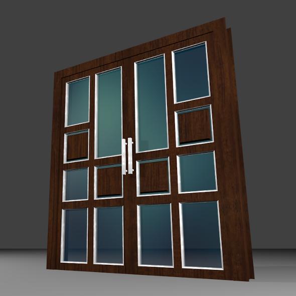Double door - 3DOcean Item for Sale