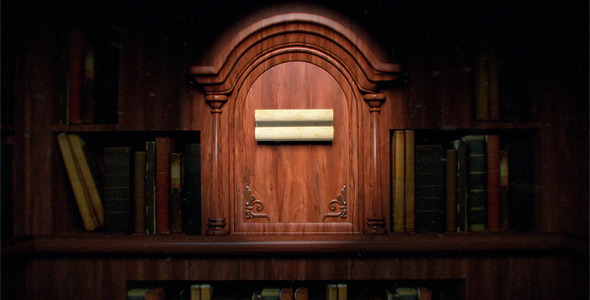 After Effects Project - VideoHive Old Library Logo Reveal 1681103