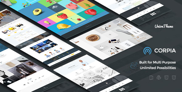 Download Corpia - Design Driven Theme nulled download