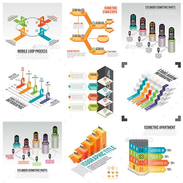 Isometric Infographic 01