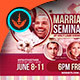 Marriage Seminar Church Flyer Template