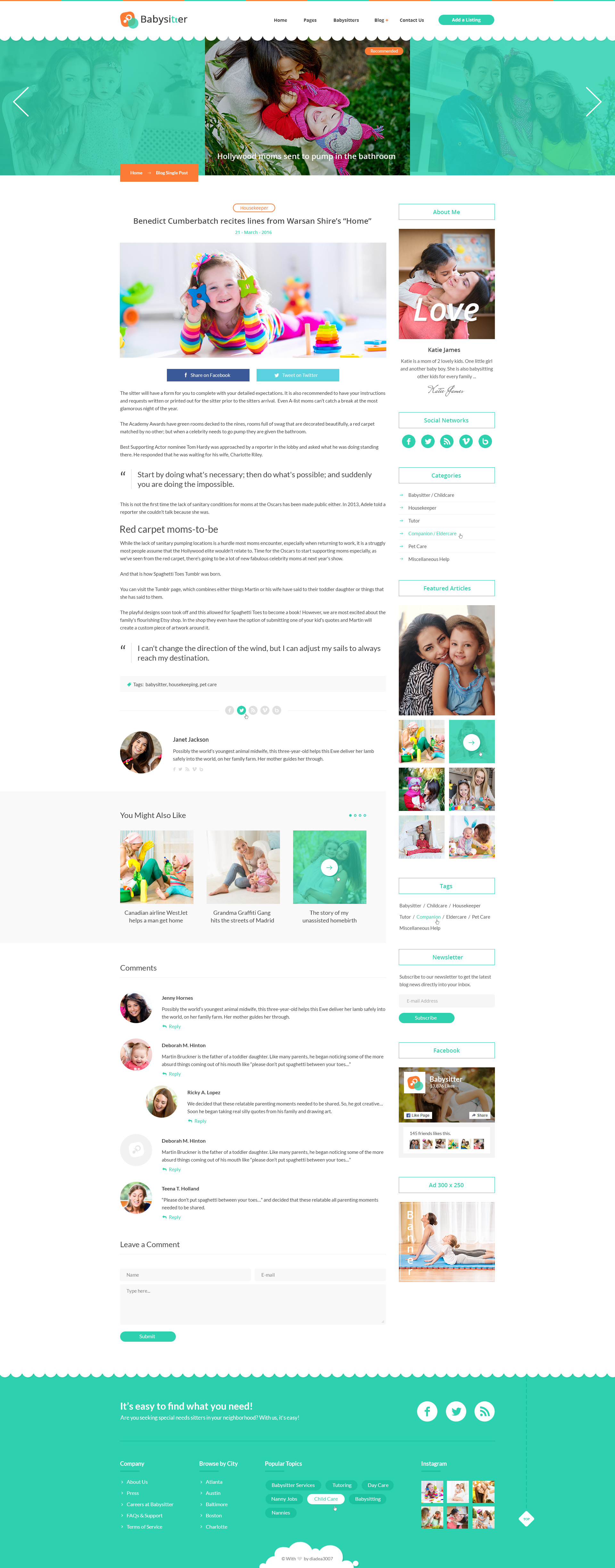 babysitters jobs directory babysitting html template by babysitters jobs directory babysitting html template