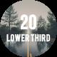 20 Lower Third