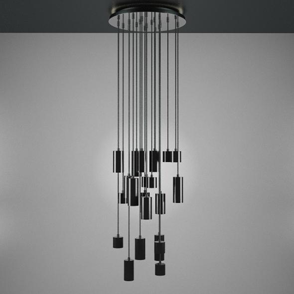 Modern Big Ceiling Lamp - 3DOcean Item for Sale
