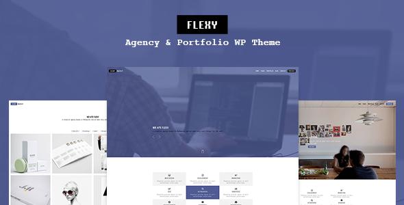 Flexy - Agency & Portfolio WP Theme