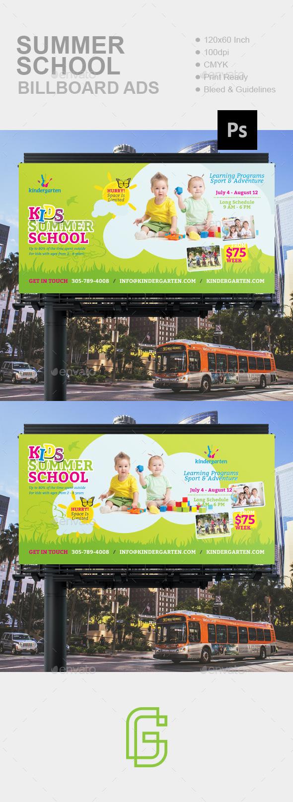 Summer School Billboard