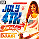 4 July Flyer Template
