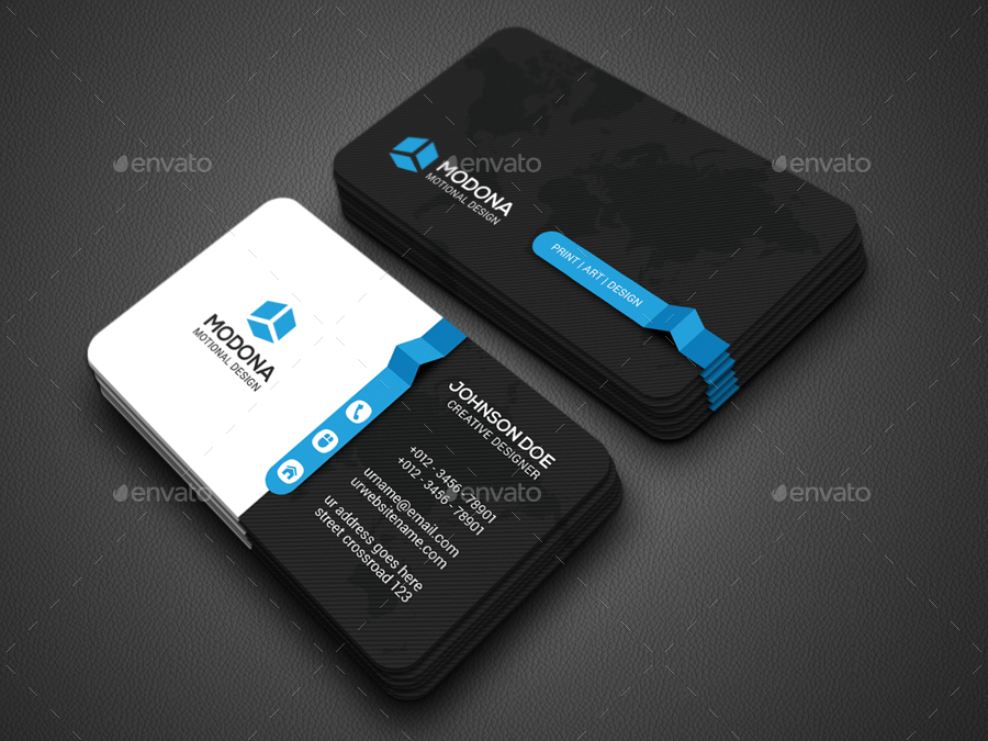 Creative Business Card by Zavad