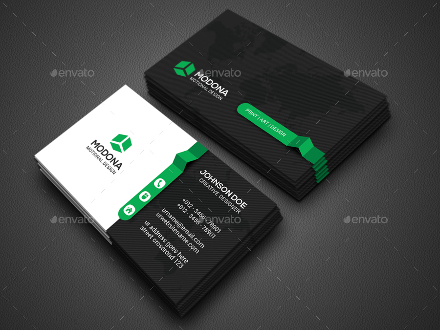 Creative Business Card by Zavad