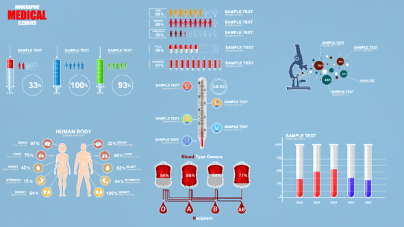 Download Medical Infographic Elements nulled download