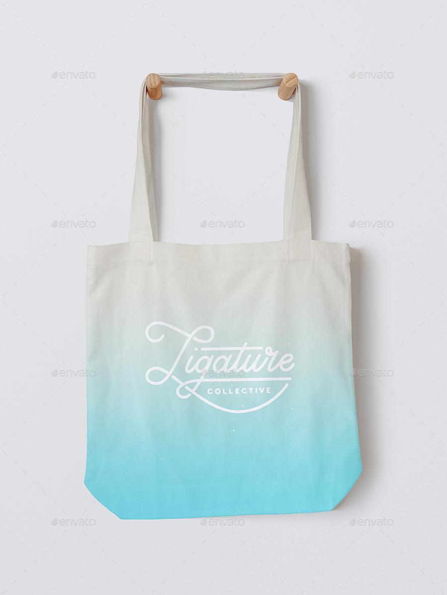 Tote bag template illustrator - 1 Jpg