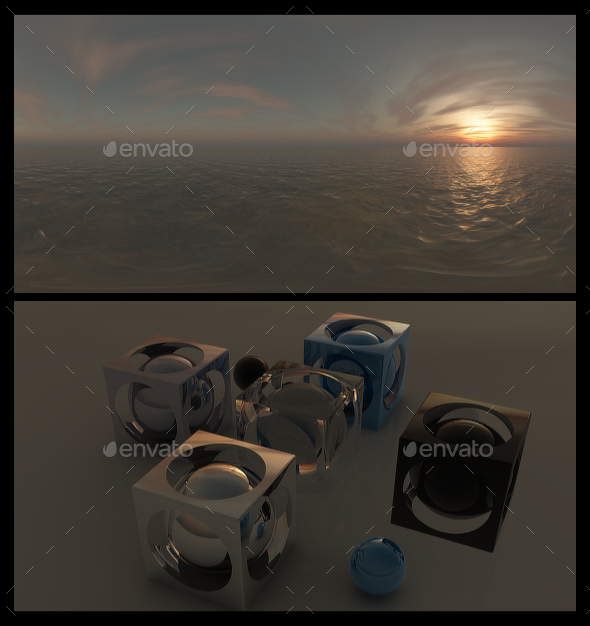 Ocean Dawn 11 - HDRI - 3DOcean Item for Sale