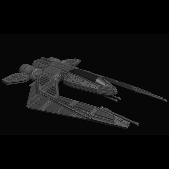 3DOcean Spaceship Fighter 16830854