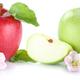 Apple fruit apples fresh fruits isolated on white