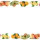 Fruits apple orange apples oranges fruit frame copyspace copy space