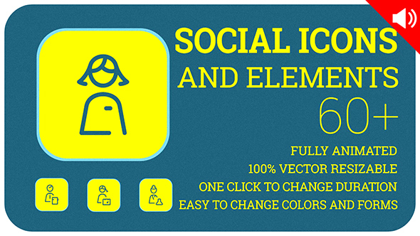 Download Social Icons and Elements nulled download