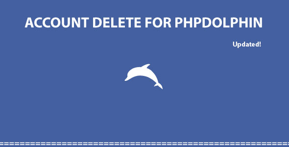 Account Delete For Phpdolphin