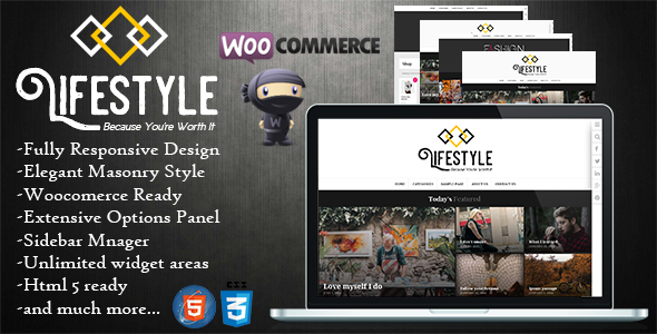 Download Lifestyle - Multipurpose Blog/Magazine Theme nulled download