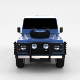 Land Rover Defender 90 Hard Top rev