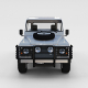 Full Land Rover Defender 90 Pick Up Seethrough