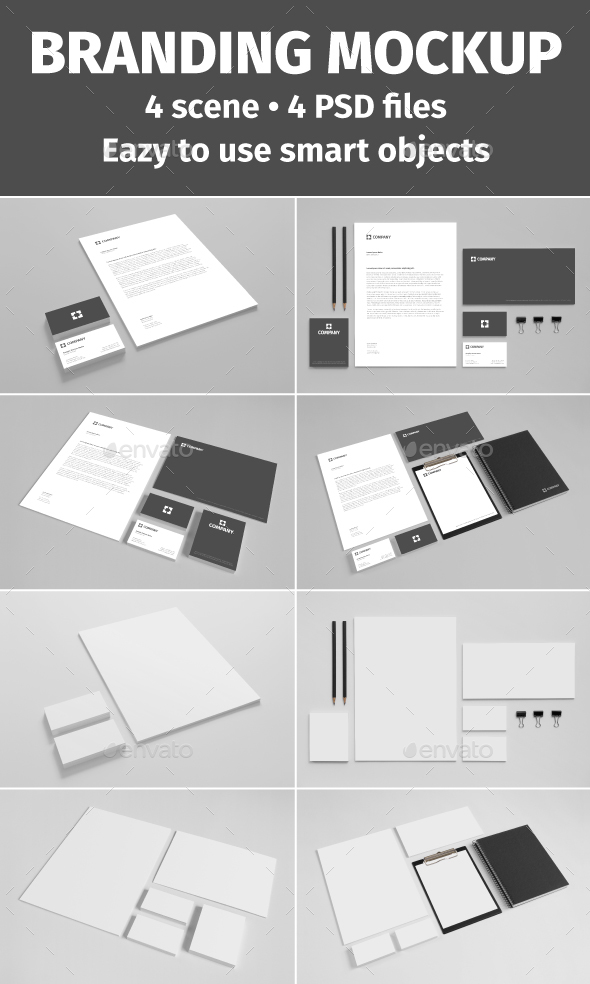 CD & DVD Cover Mock-Up vol 01 (Stationery)