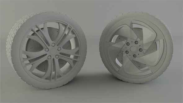 3DOcean BMW and Audi Rim 1684391
