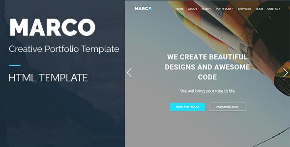 MARCO - Responsive Multipurpose HTML Template