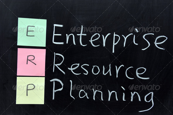 ERP, Enterprise Resource Planning - Stock Photo - Images