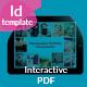 Tablet Interactive PDF Photographer Portfolio No7