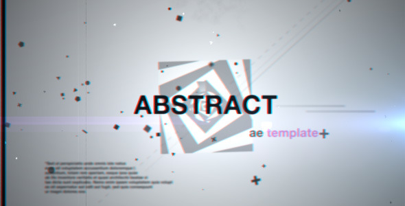 After Effects Project - VideoHive Abstract 1685333