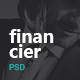 Financier - Finance & Business PSD Template
