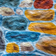 Painted Stone Wall 3D Texture