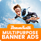Multi Purpose Banners HTML5 D3 - Google Web Designer