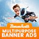 Multi Purpose Banners HTML5 D3 - Google Web Designer