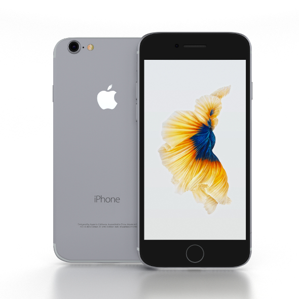 iPhone 7 Space Gray - 3DOcean Item for Sale