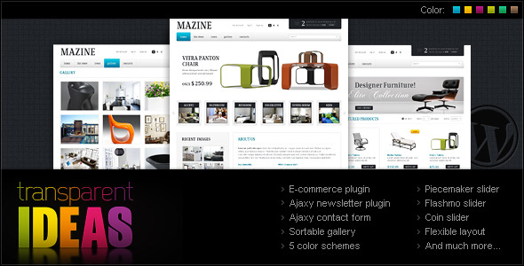 Mazine WordPress Theme - A WP E-Commerce theme - WP e-Commerce eCommerce
