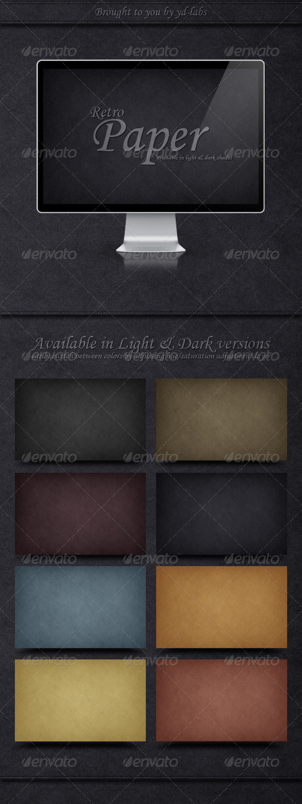 Retro Paper - Abstract Backgrounds
