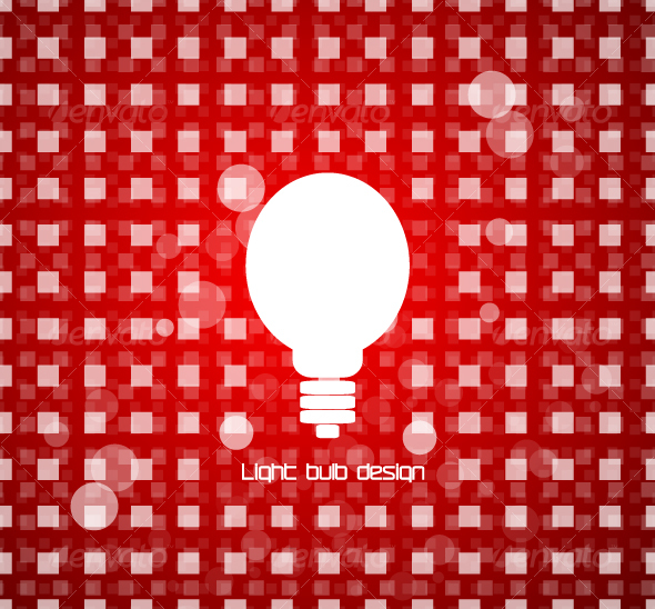 Light bulb design - Backgrounds Decorative