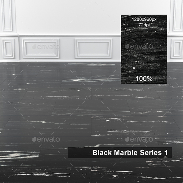 Black Marble Texture - 3DOcean Item for Sale