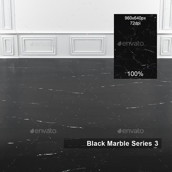 Black Marble Texture 3 - 3DOcean Item for Sale