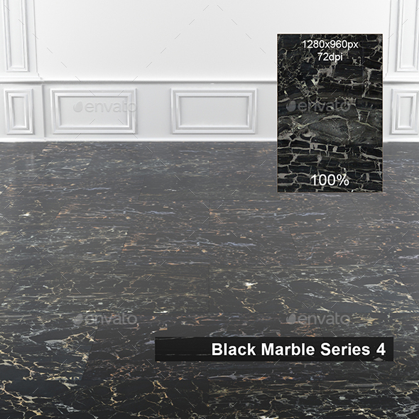 Black Marble Texture 4 - 3DOcean Item for Sale