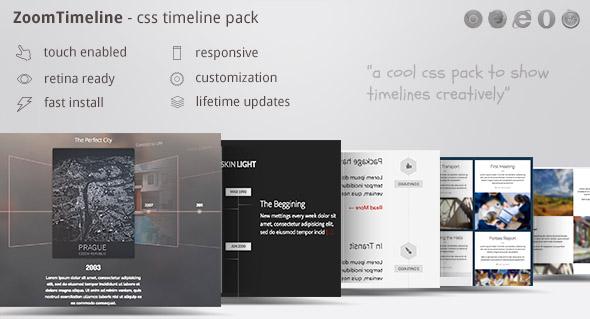 Download ZoomTimeline - CSS Timeline Pack
