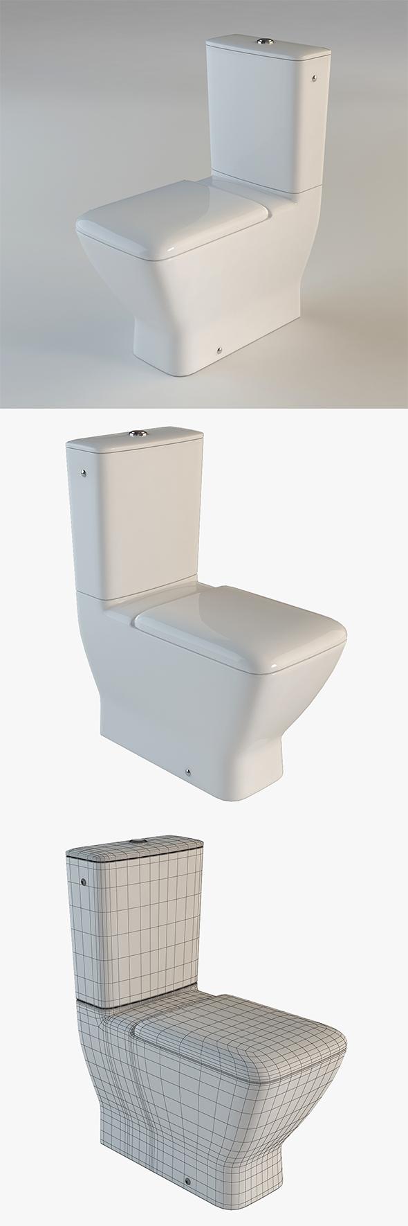 Toilet Laufen Palace - 3DOcean Item for Sale