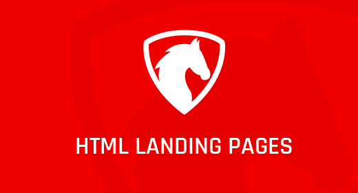 HTML Landing pages