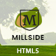 Millside - Golf and Sport Website template
