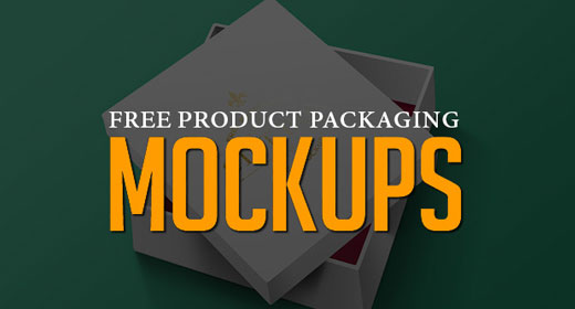Product Packaging Mockup PSD Templates