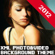 XML Photography & Videography Website Template - ActiveDen Item for Sale