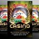 Casino Flyer Template #4