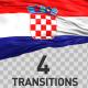 Croatia Flag Transitions