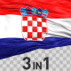 Croatia Flag Pack